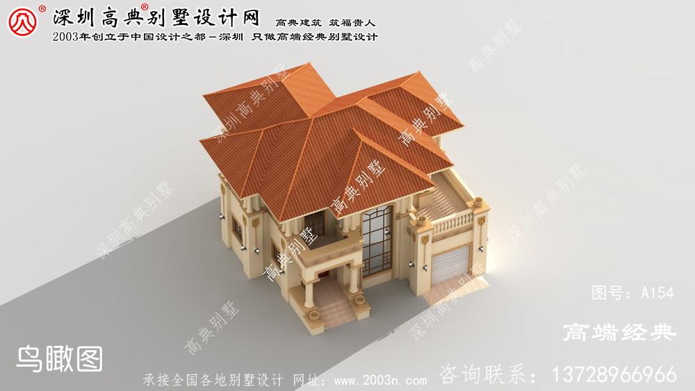 虎丘区二层别墅设计方案,处处彰显大气