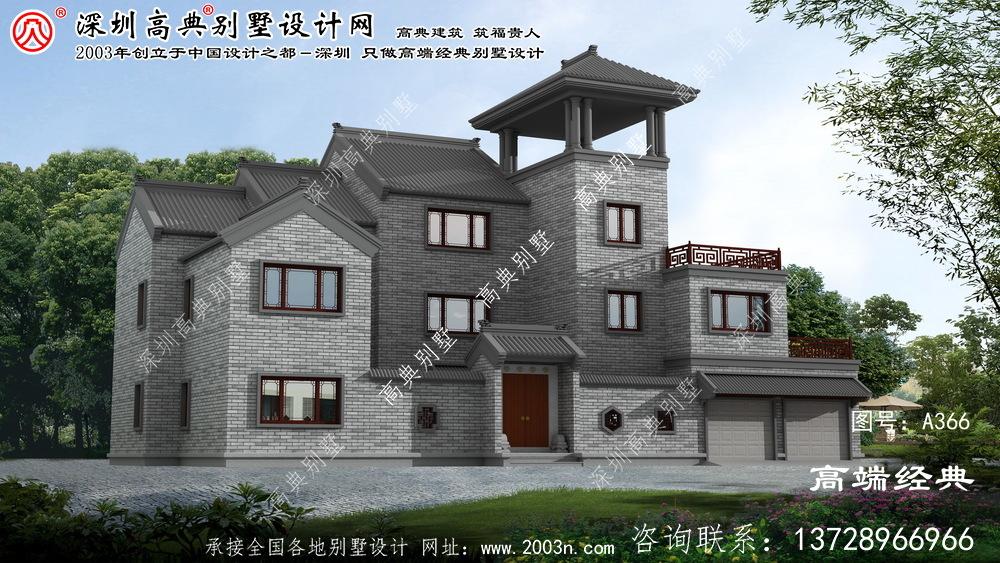 宁海县新中式院子别墅设计图纸
