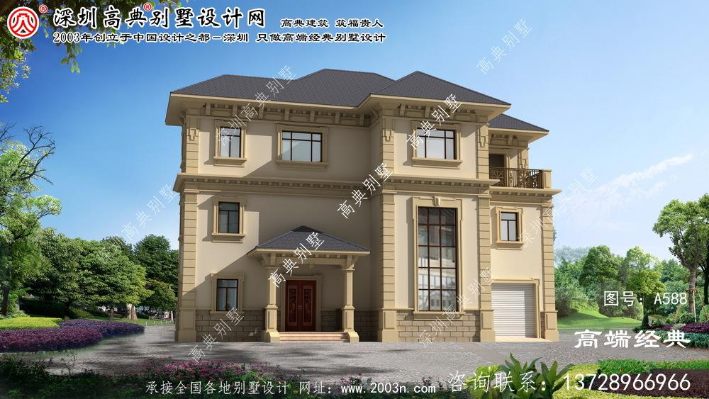 潜山县豪宅设计图房型图