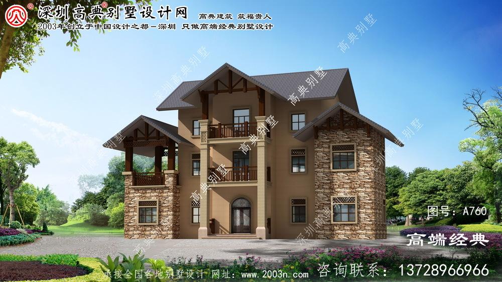 居巢区农村建房庭院设计