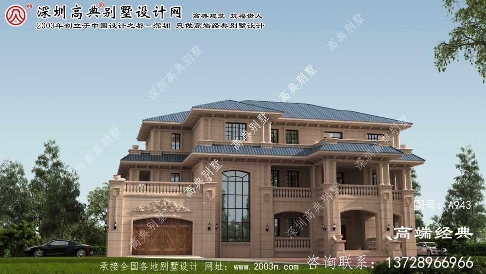 横峰县深圳高级别墅设计图