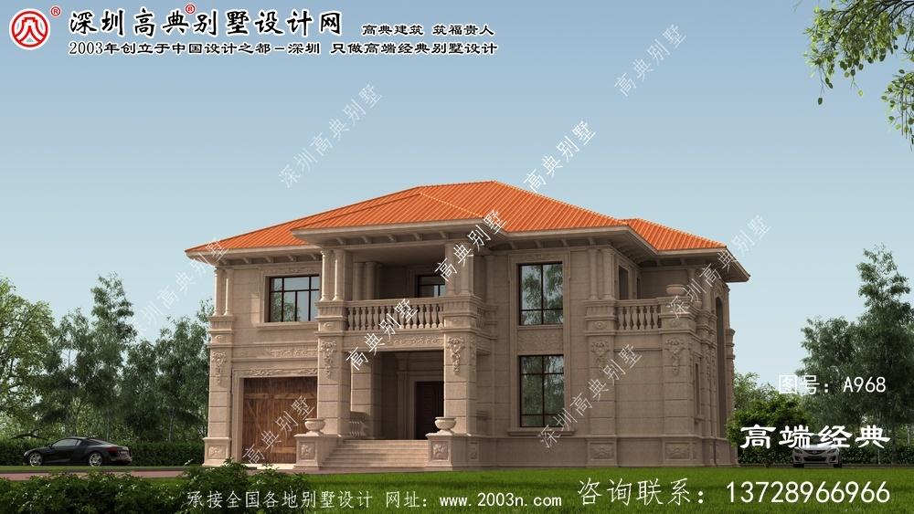 屏南县冬暖夏凉的别墅效果图