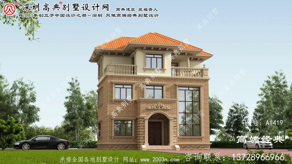 涿鹿县小区别墅设计图纸