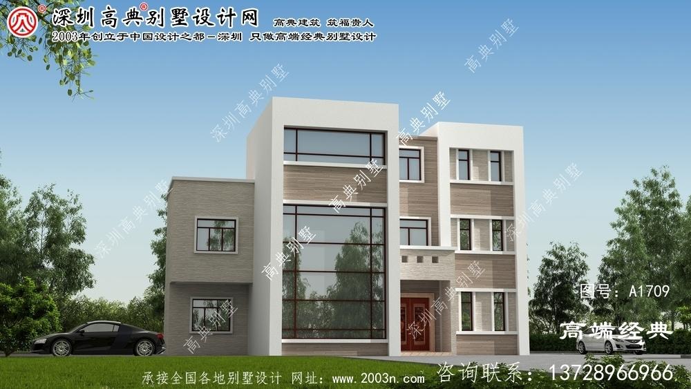 左权县现代风格别墅外观设计生活的不同打开方式