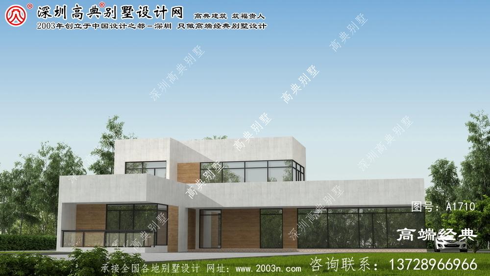 昔阳县现代风格别墅设计回归家乡的宁静