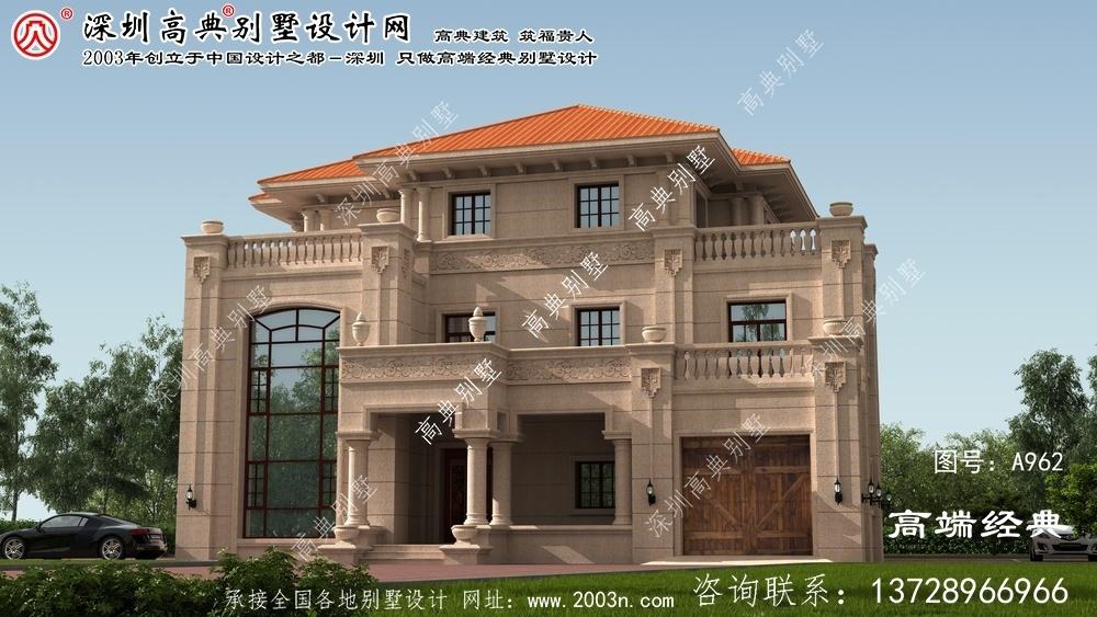 蔡甸区大户型别墅设计图纸平面图