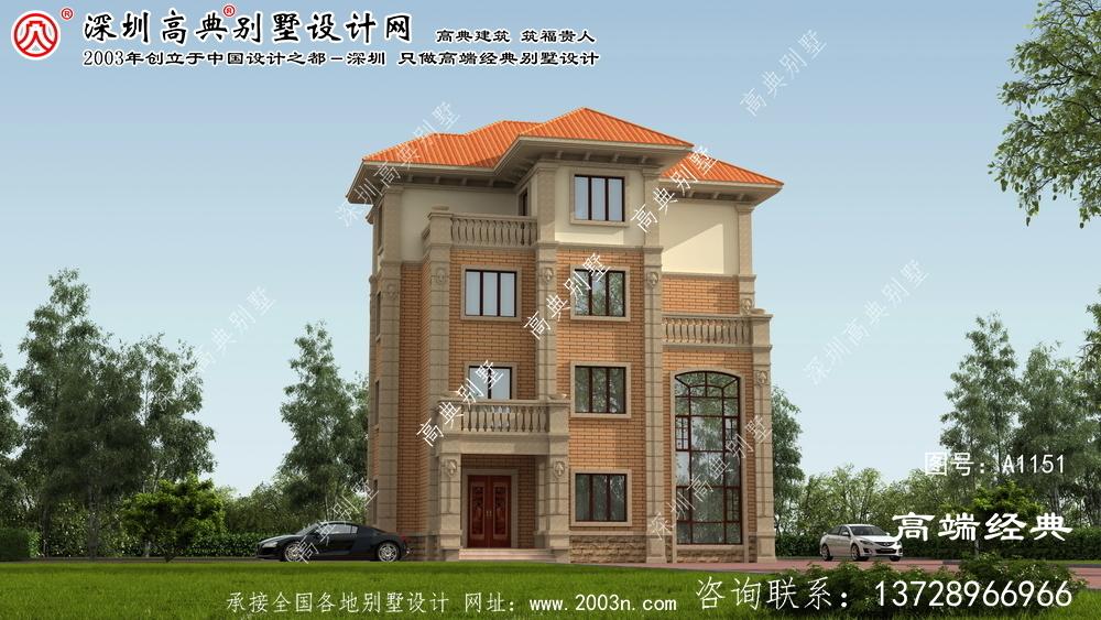 茶陵县房屋设计图效果图