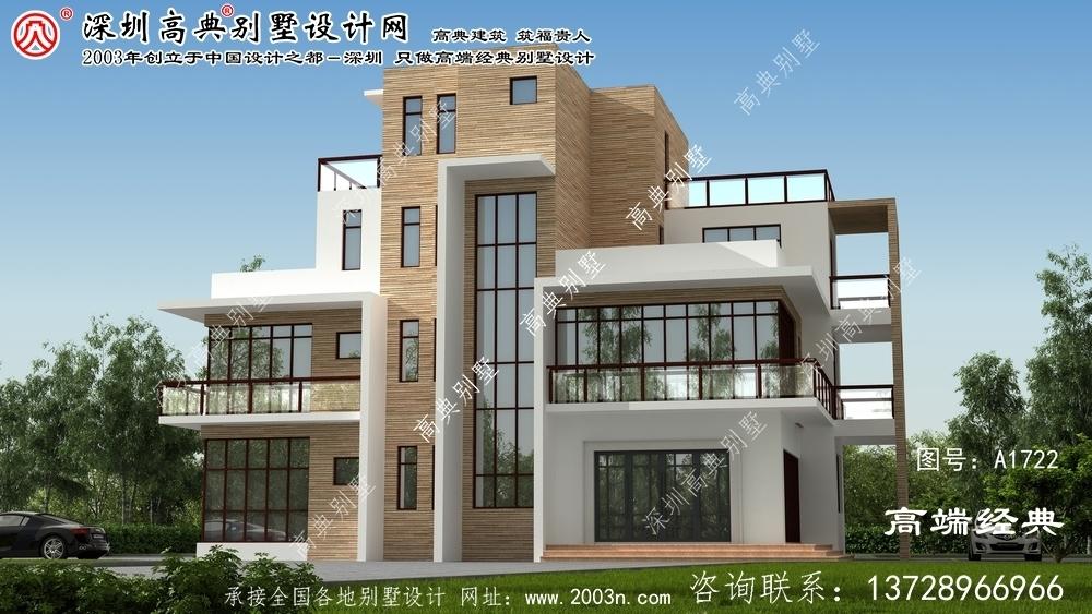 钟山县3层别墅施工图