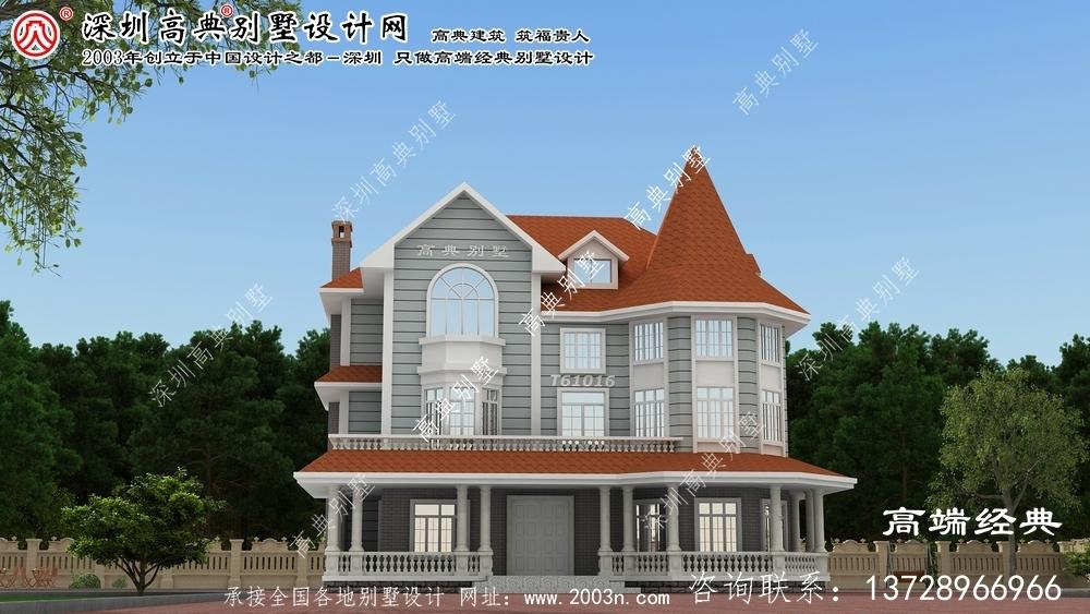 东区三层大户型别墅设计图