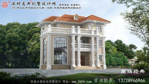 茂县农村新型小别墅