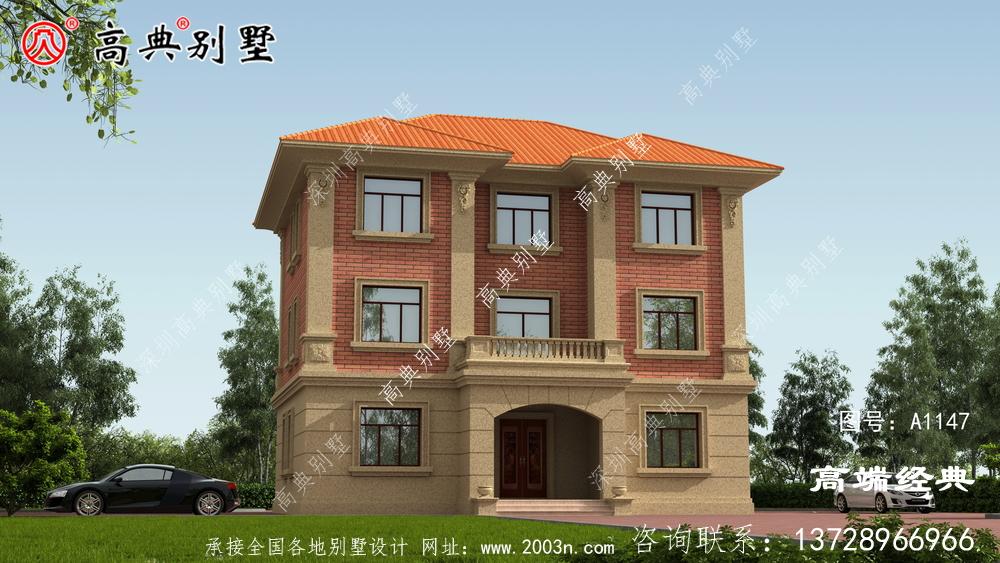 和田地区农村自建房三层