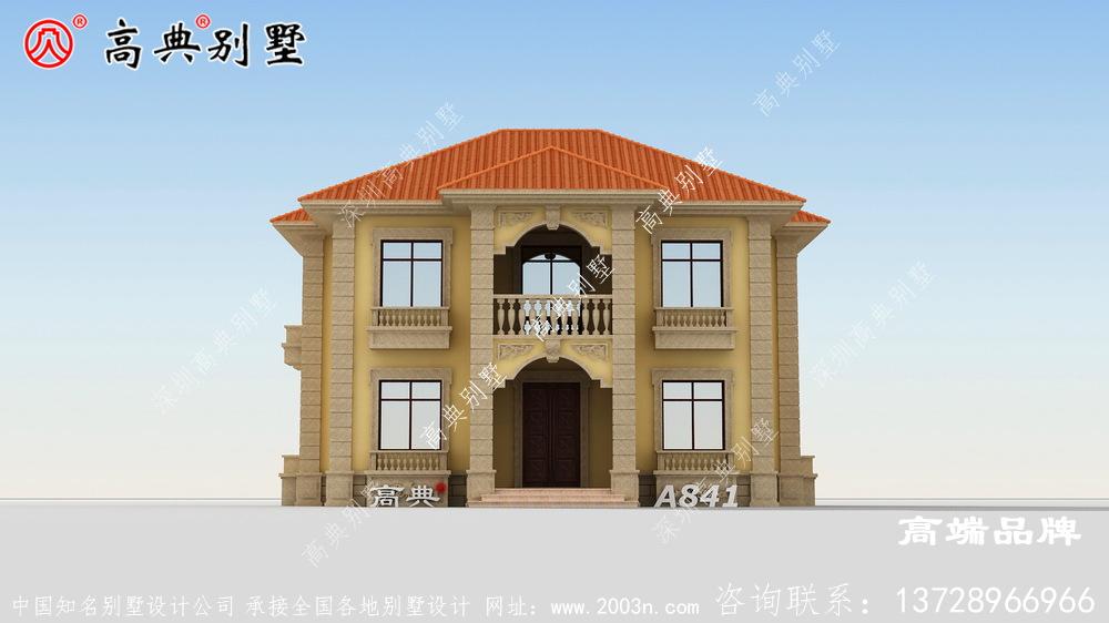 乡下两层欧式别墅户型及外观设计怎样才能做得好看?
