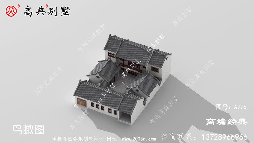 二层农村别墅设计图