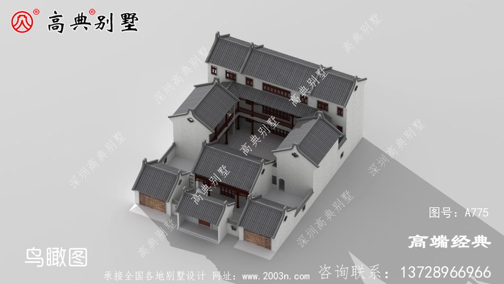 2层别墅设计图