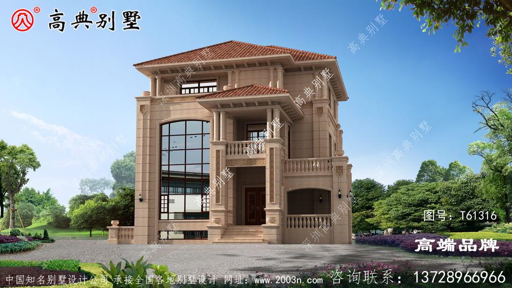 农村三屋楼房设计图