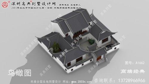 岳阳县乡下中式二层自