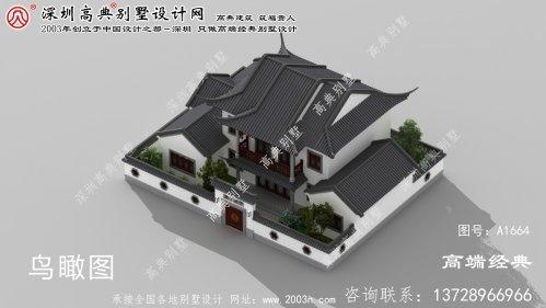 湘阴县乡下自建中式庭