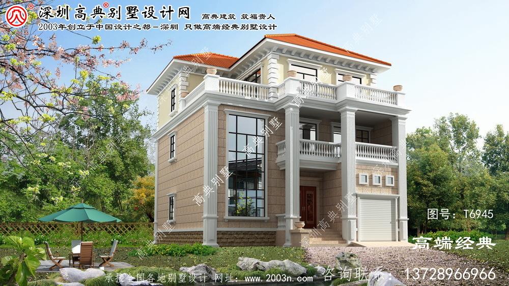 大厂回族自治县优雅的欧洲三层复式别墅