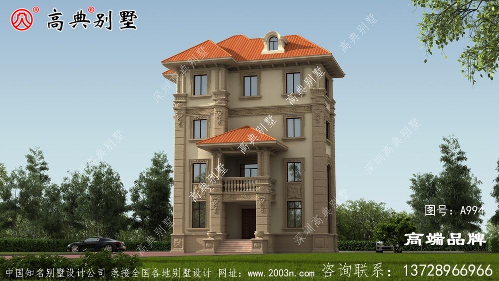 老家建套四层别墅,父母在村里的地位都提升了