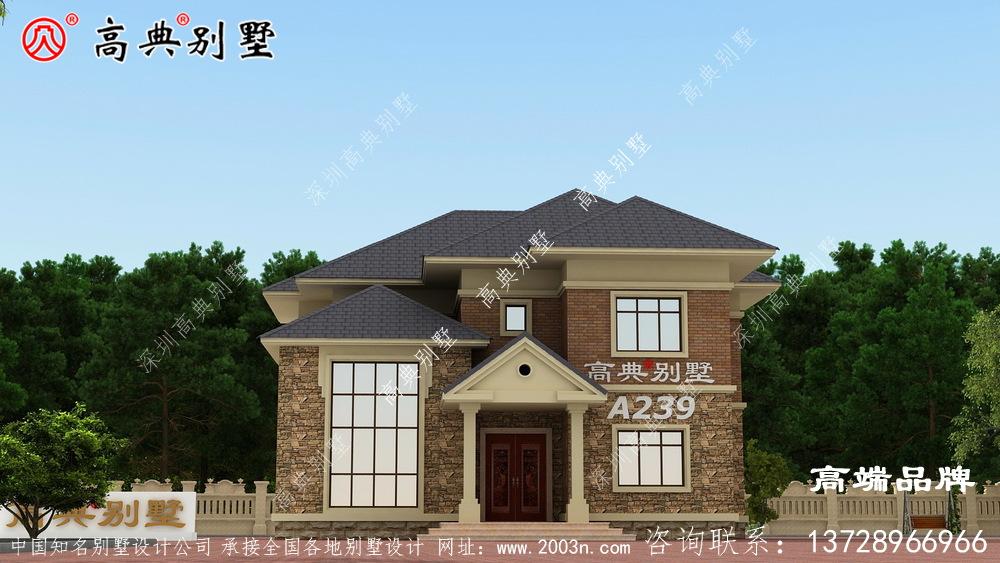 农村2层房屋设计图纸所以这样的户型刚刚好。