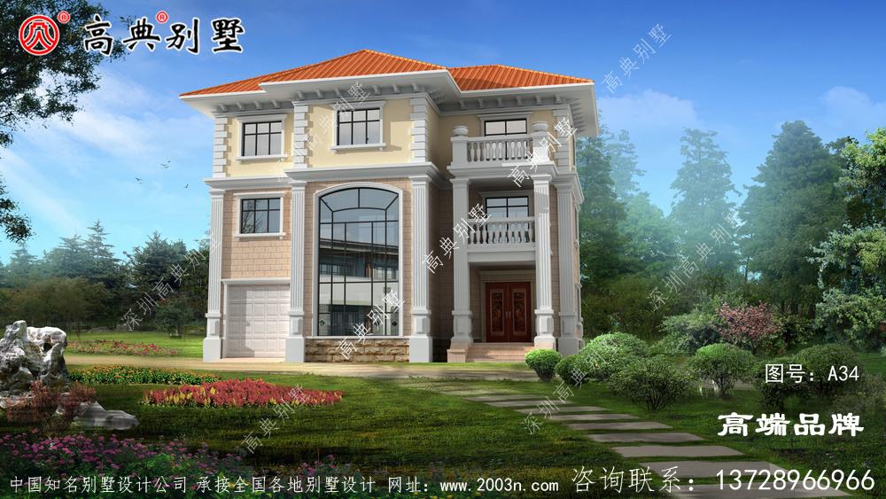 新型农村住房设计图是很多人梦寐以求的事情