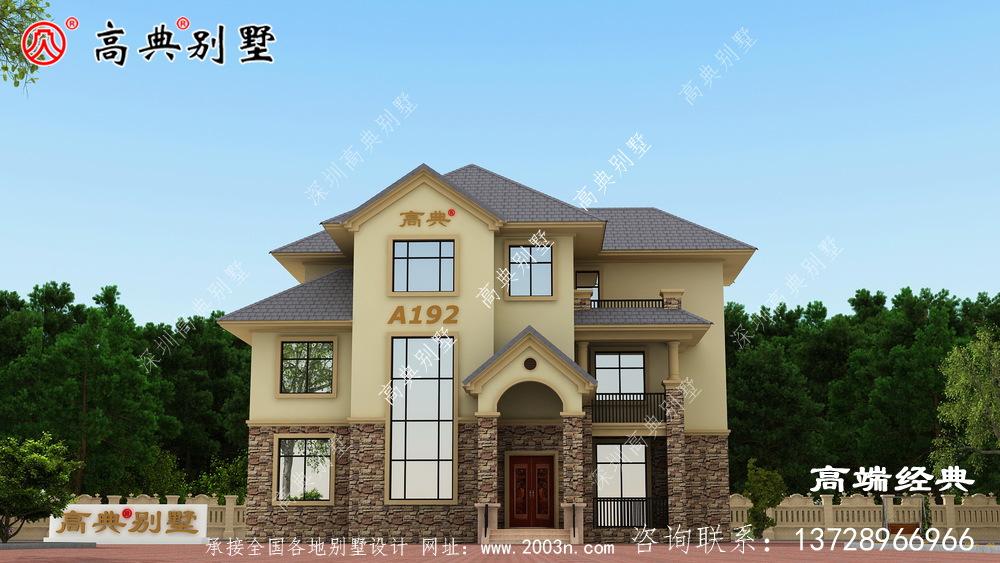 文昌市乡下别墅设计图纸,造价这么低,你敢相信吗