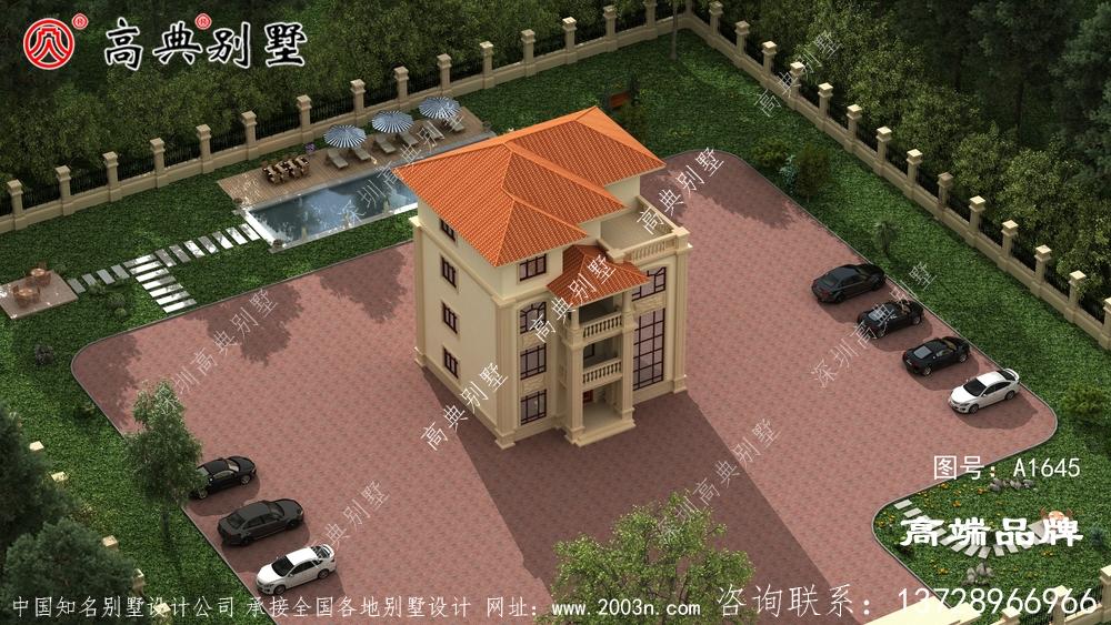 独栋别墅户型图大全怎样才能建一栋漂亮又实用的别墅呢?
