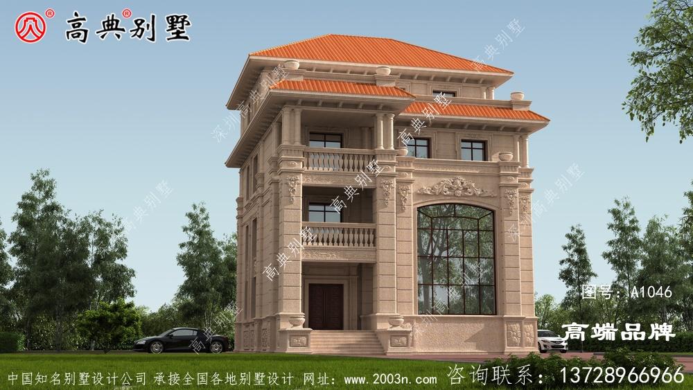 农村新房子设计图设计感十足。