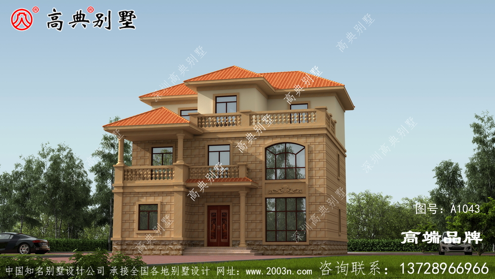 农村住宅房屋设计图好房子让人看不厌!