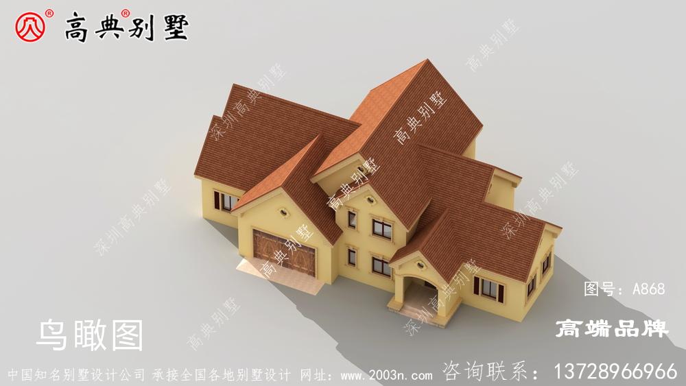 顶级别墅效果图建在老家倍有面儿