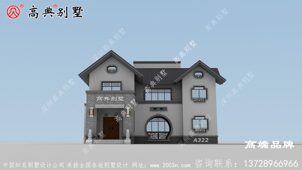 农村二楼房屋设计图每款都各有千秋