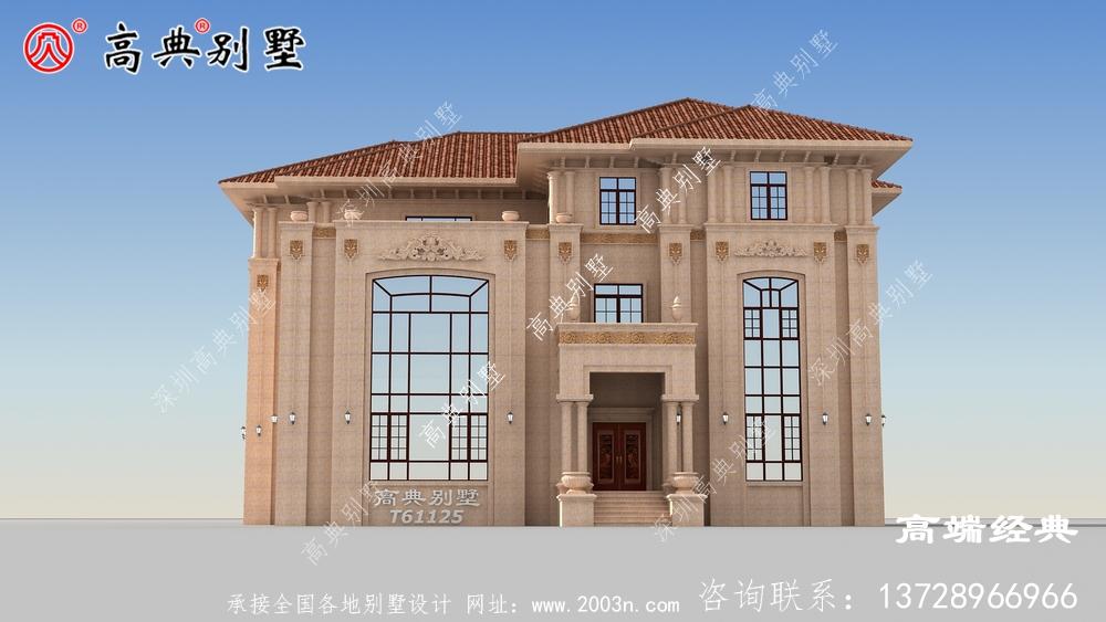 欧式石材别墅设计图建的人已经破万了