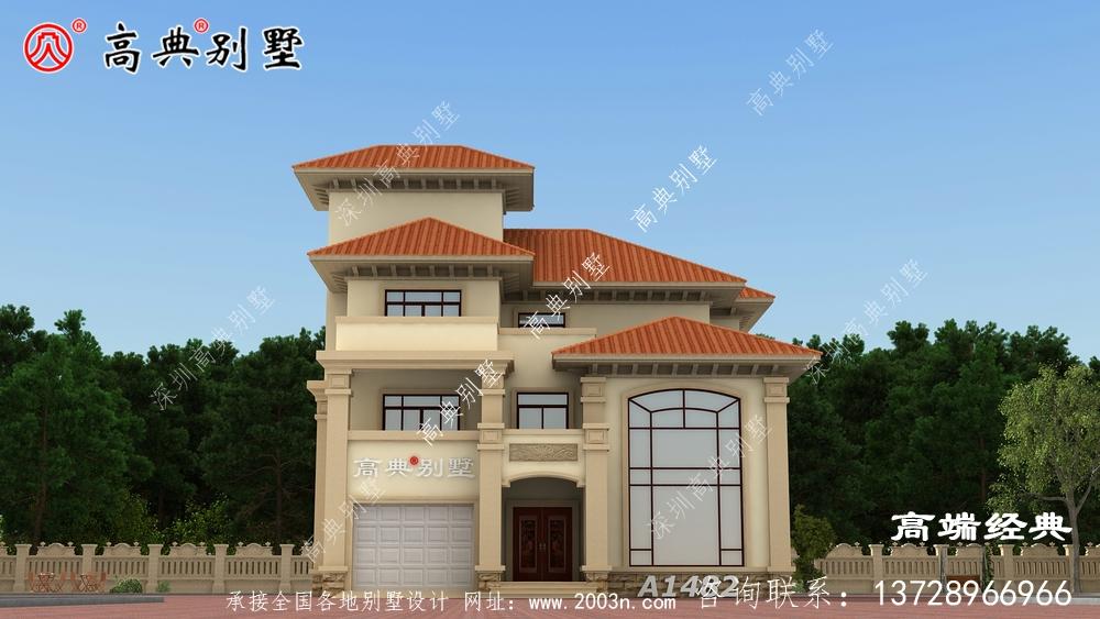 农村自建别墅方案,看着就很心动。