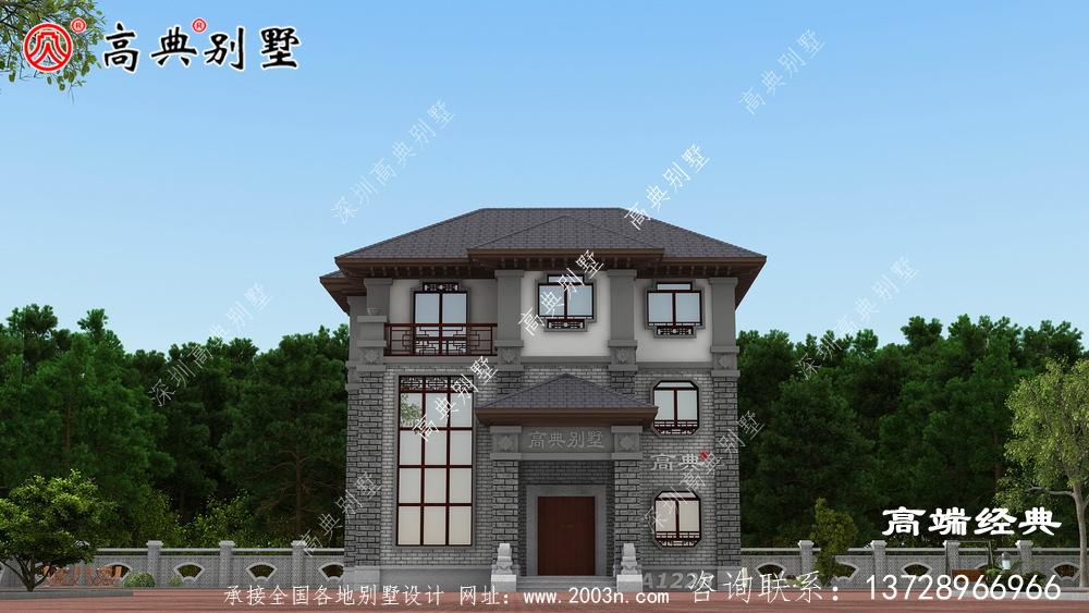 老家建栋别墅让生活更加精彩风光