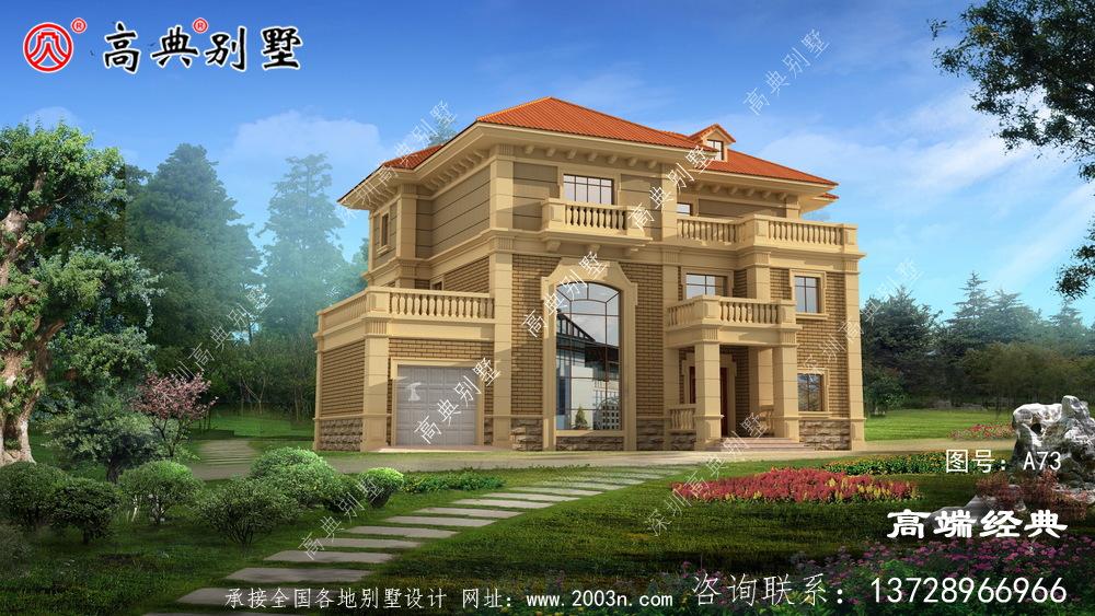 融入很多的元素,让房屋看起来 更美观大气一些