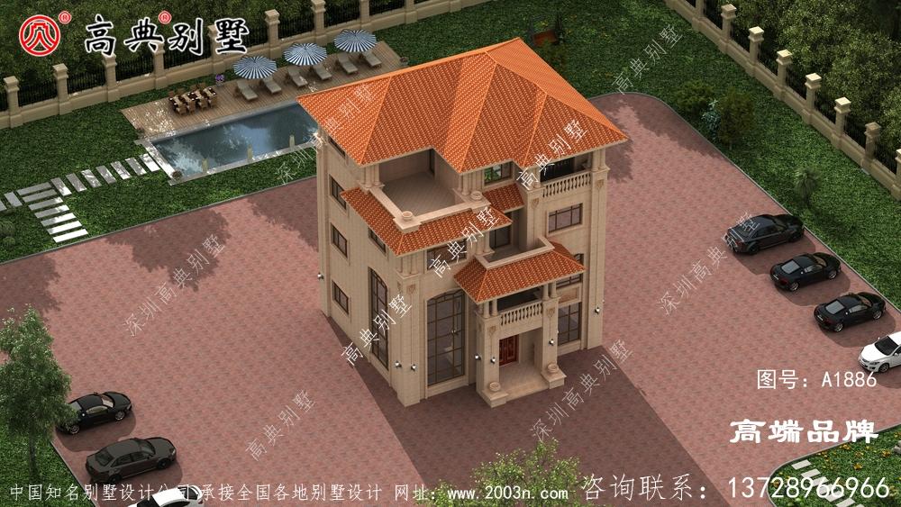 欧式石材别墅追求简美风格