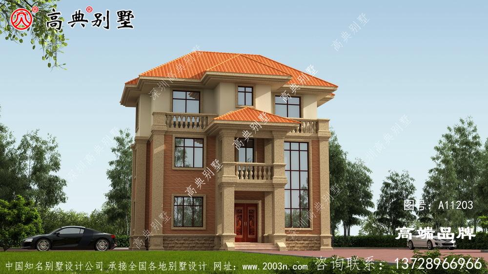 复式简欧别墅,人人抢着建的户型。