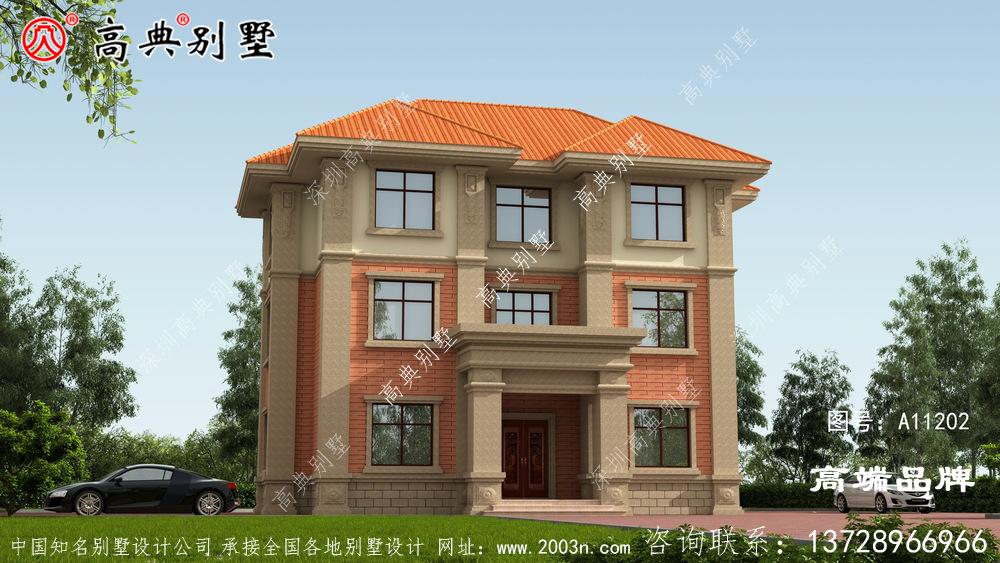 经典的三层别墅经典外观,布局超实用