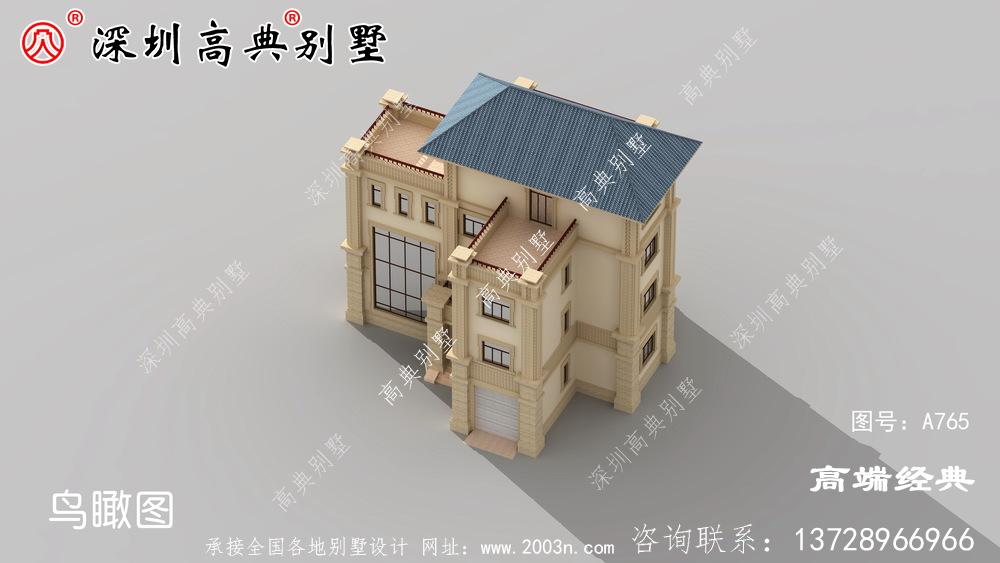 四层简约别墅给大家,希望大家找到合适的户型。