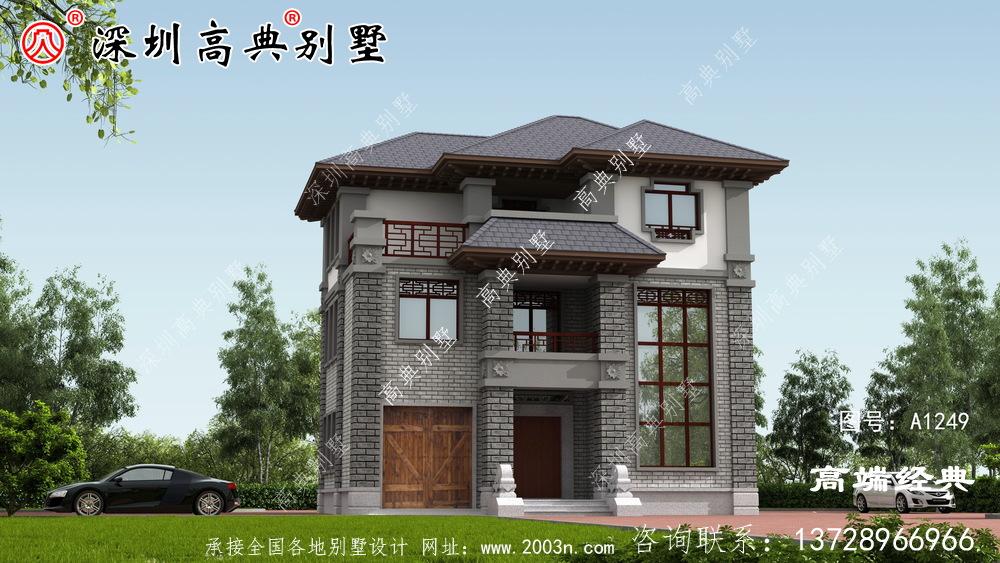 回农村盖中式别墅,不仅能圆自己的别墅梦,还能提高自己的生活品质。