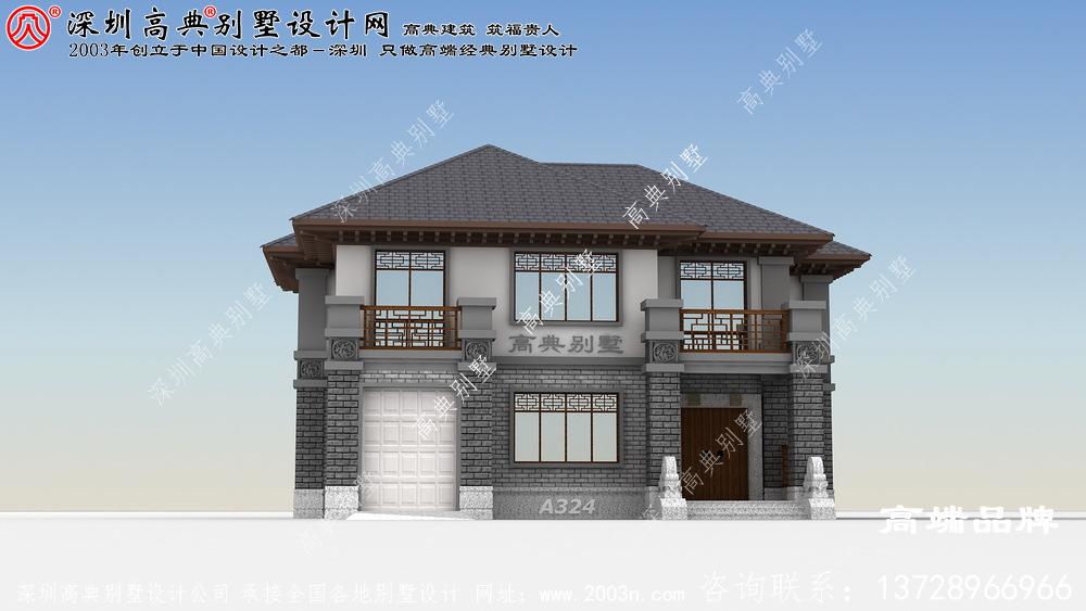 二层小楼图,花最少的钱,建一栋人人羡慕的别墅!