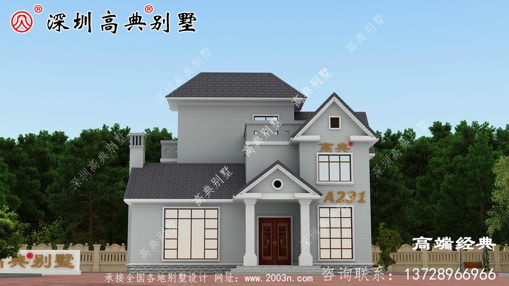老家建造理想的别墅,不仅需要美丽的外观,实用的室内布局也很重要