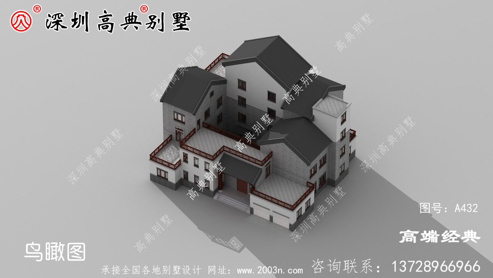 农村盖房子,还是建中国式的好,不过时