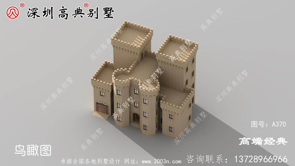 新型四层自营住宅的外观图,不仅外观漂亮,室内布局也不言而喻。