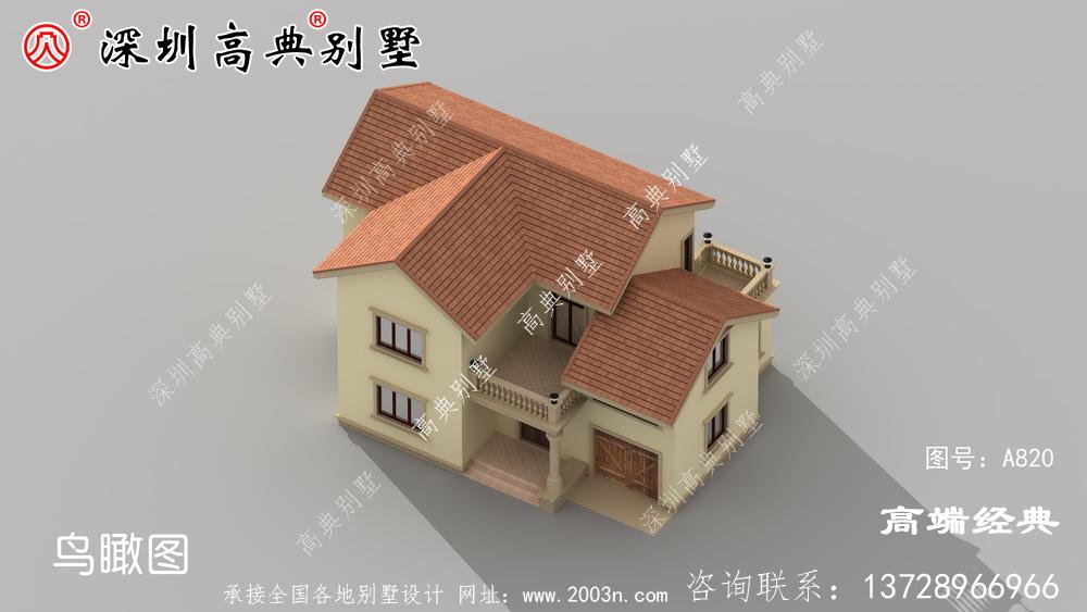 农村最实用的二层房效果图