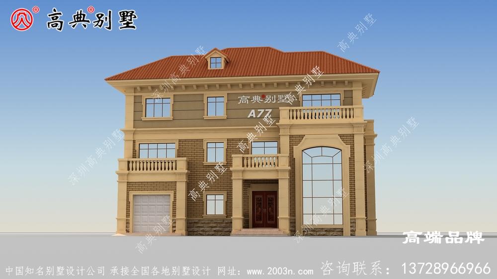 经典的欧式风格成为很多成功者建造住宅优先考虑