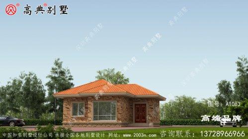 一层独栋别墅设计图,