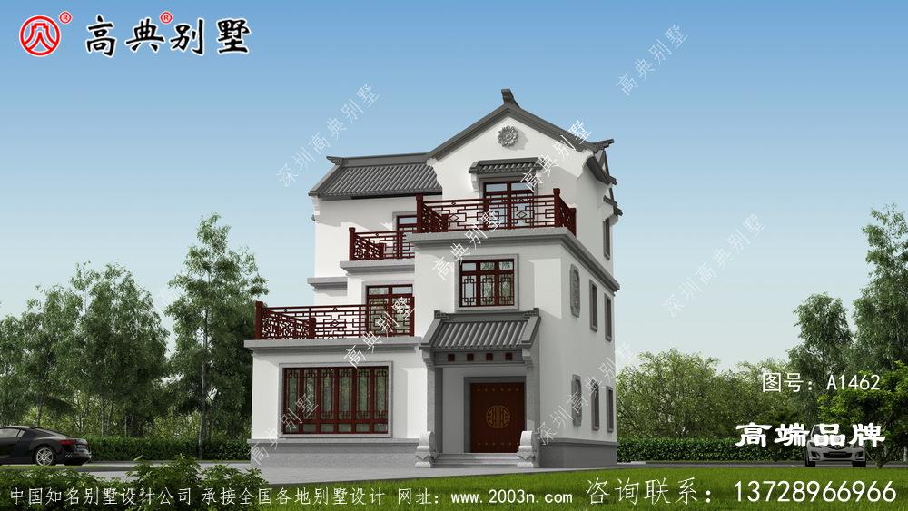 中式别墅这么好看,怪不得那么多人建