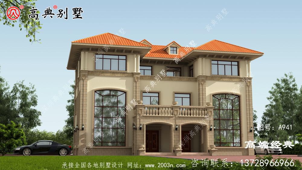 欧式自建别墅,外观好看时尚,布局实用,是你心目中的美丽家园吗?