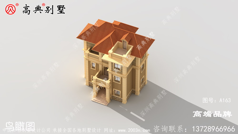 农村复式二层半别墅图,这样建的房子,住着更舒适